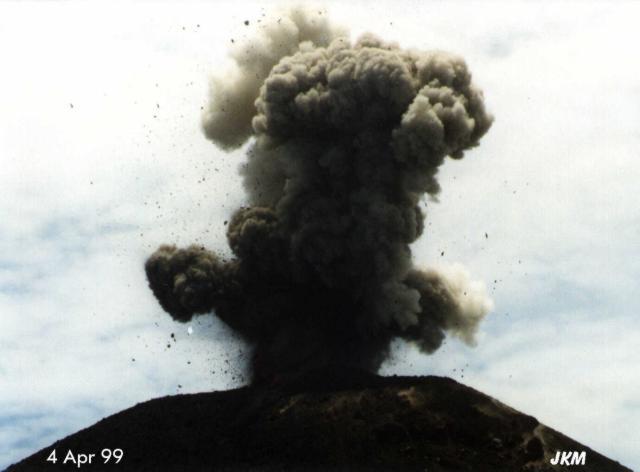 Krakatoa 1999