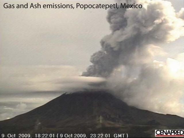 Popocatépetl 2009