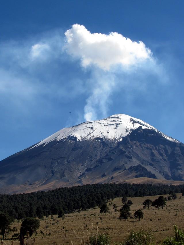 Popocatépetl 2008