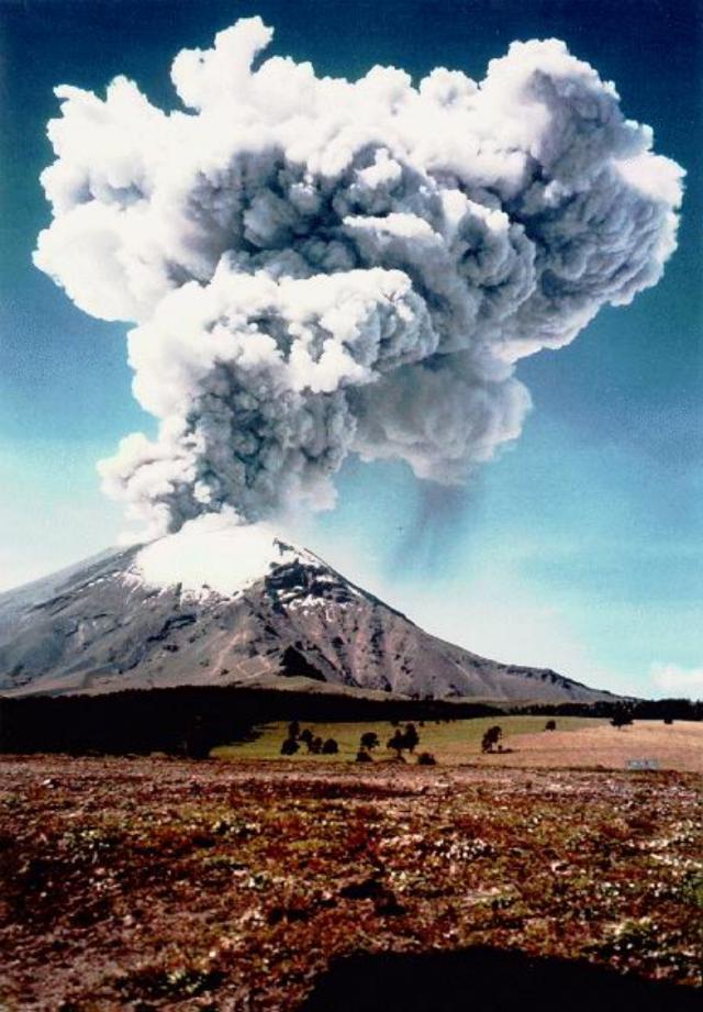 Popocatépetl 1997