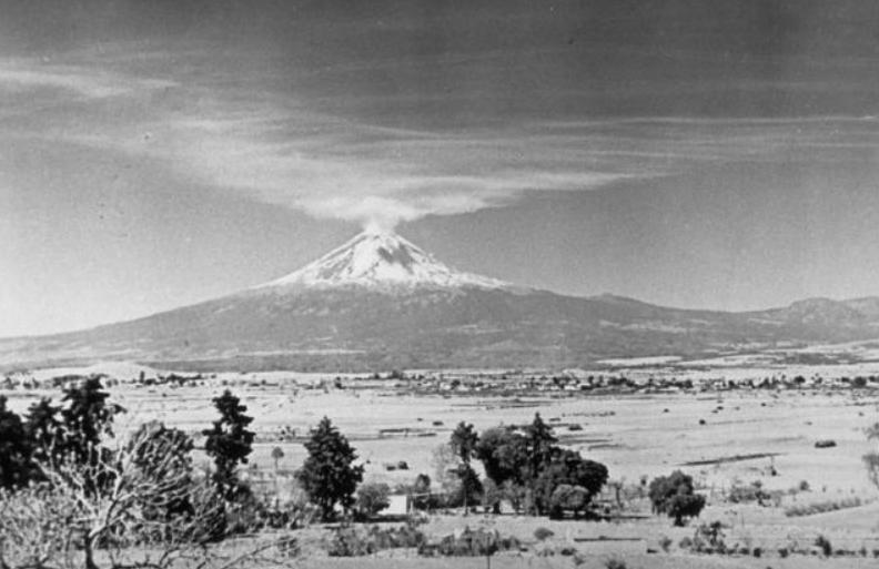 Popocatépetl 1947