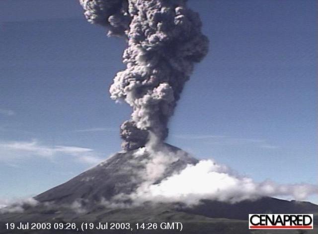 Popocatépetl 2003