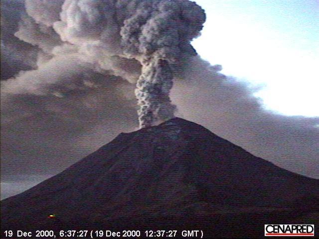 Popocatépetl 2000