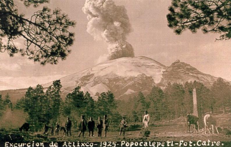 Popocatépetl 1925