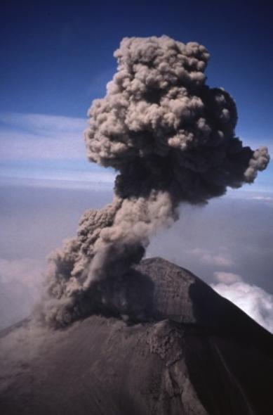 Popocatépetl 1995