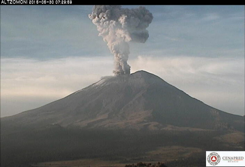 Popocatépetl 2015