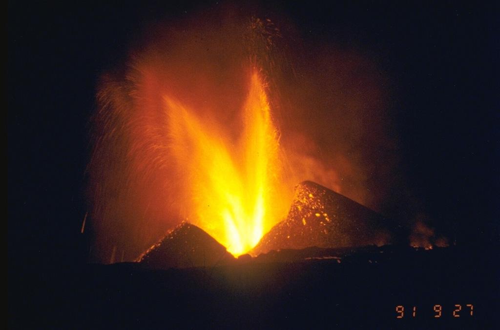 Nyamuragira 1991